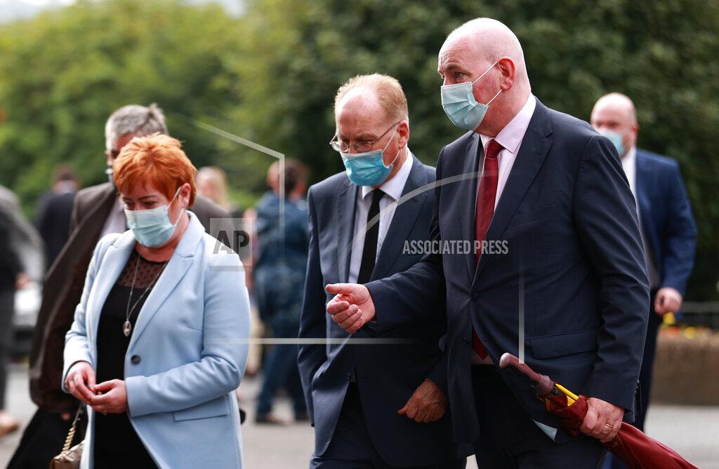 Pat Hume funeral