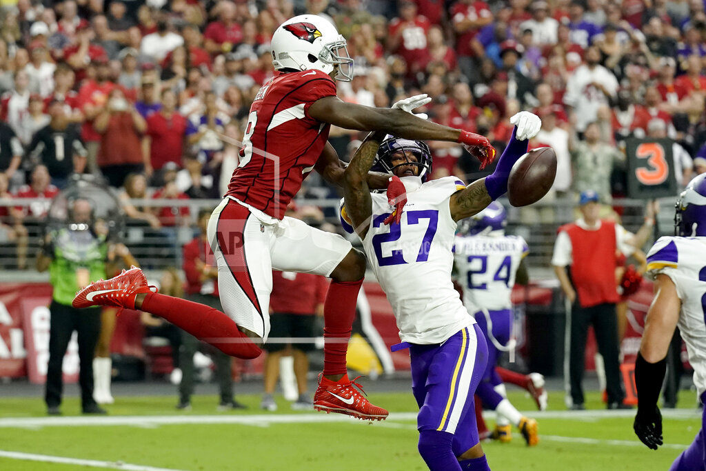 APTOPIX Vikings Cardinals Football