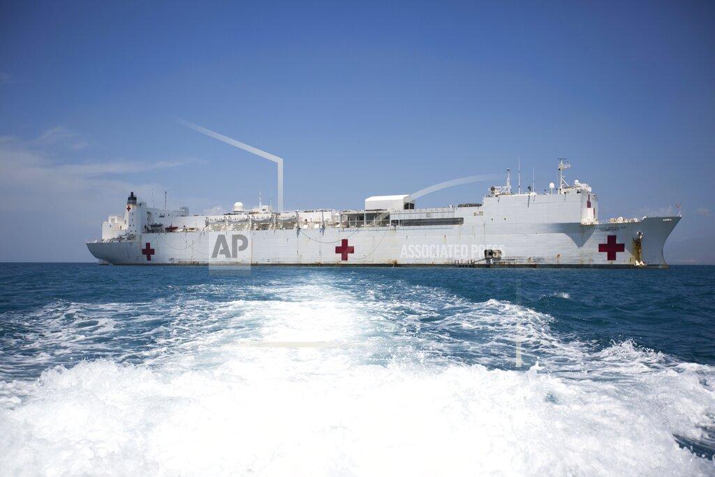 Haiti US Hospital Ship