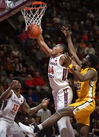 NC A T Virginia Tech Basketball