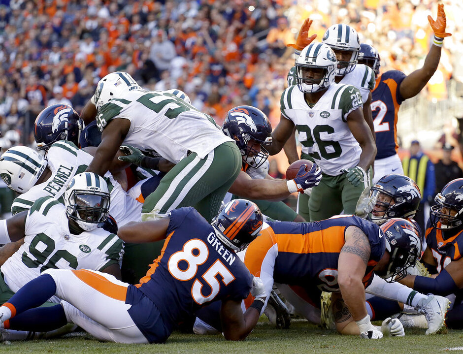 Jets Broncos Football