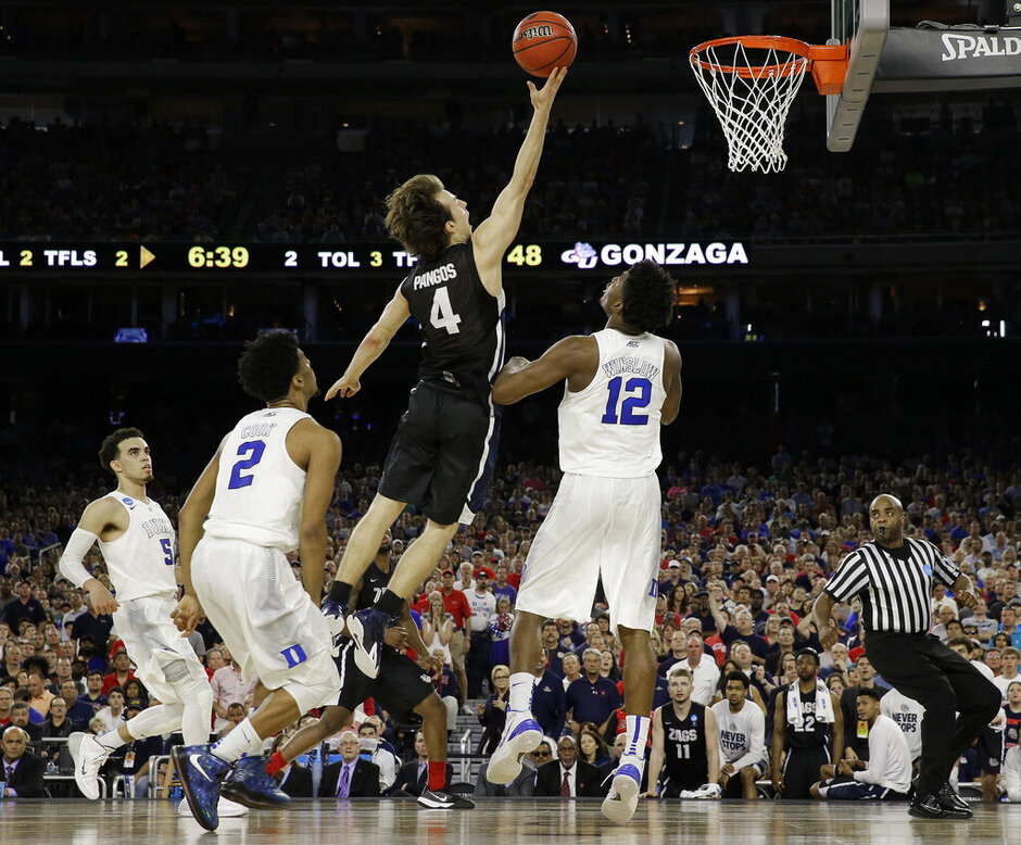 NCAA Duke Gonzaga Basketball