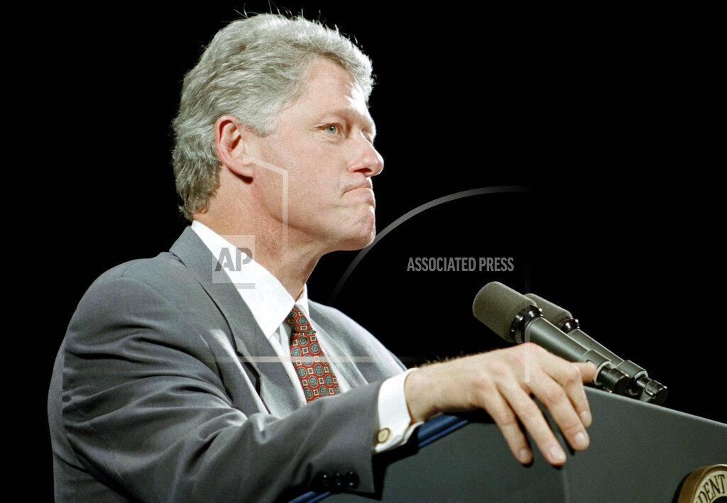 Watchf AP A  CA USA APHS366241 Bill Clinton