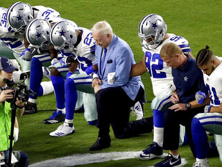 NFL Protests Football