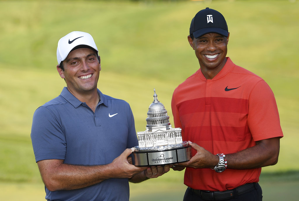 Francesco Molinari wins in a record runaway at Quicken Loans National