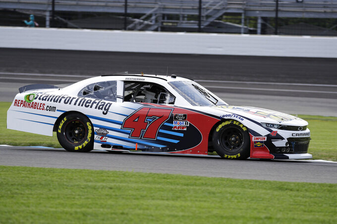 Paint schemes go political as NASCAR season heats up