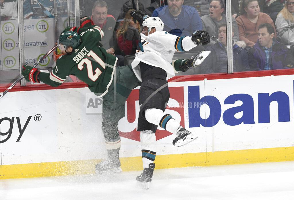 Sharks Wild Hockey