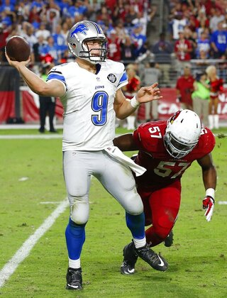 Matthew Stafford, Alex Okafor