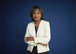"""Anita Hill poses for a portrait in New York on Sept. 21, 2021 to promote her book, """"Believing: Our Thirty-Year Journey to End Gender Violence,"""" releasing on Sept. 28. (Photo by Taylor Jewell/Invision/AP)"""