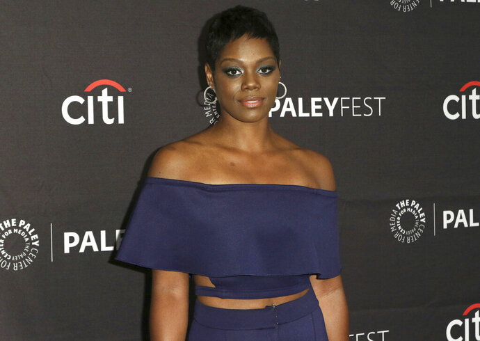 FILE - This Sept. 8, 2018, file photo shows Afton Williamson attending the PaleyFest Fall TV Previews of