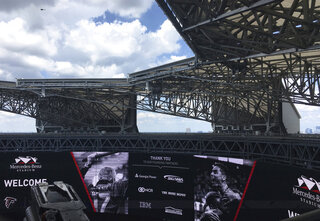 Atlanta Stadium Roof
