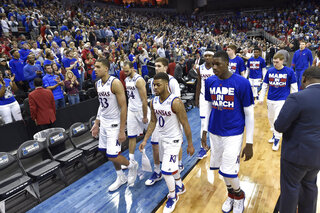 NCAA Villanova Kansas Basketball