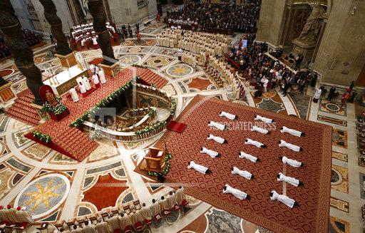 APTOPIX Vatican New Priests