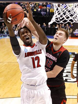 Jacksonville St Louisville Basketball