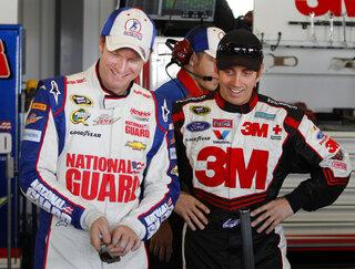 Dale Earnhardt Jr., Greg Biffle