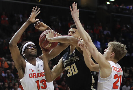 ACC Wake Forest Syracuse Basketball