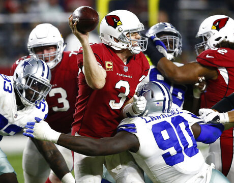 NFL Halfway Sacks Football
