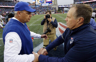 Bill Belichick, Rex Ryan
