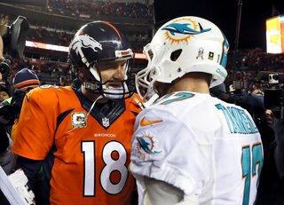 Peyton Manning, Ryan Tannehill