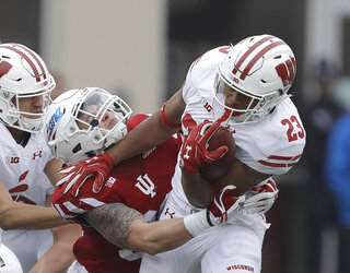 Wisconsin Indiana Football