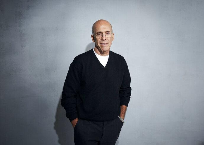Jeffrey Katzenberg poses for a portrait to promote