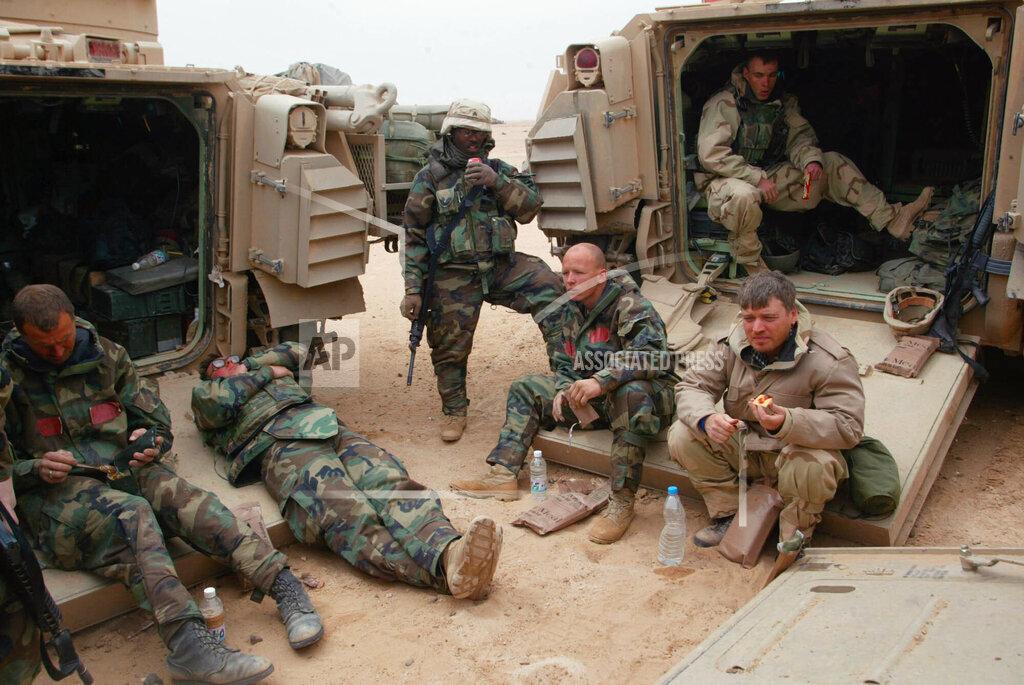 Associated Press International News Iraq Advance IRAQ EMBEDS