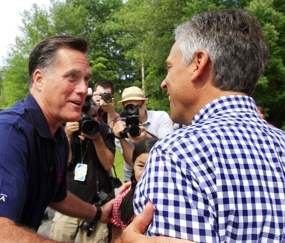 Mitt Romney, Jon Hunstman