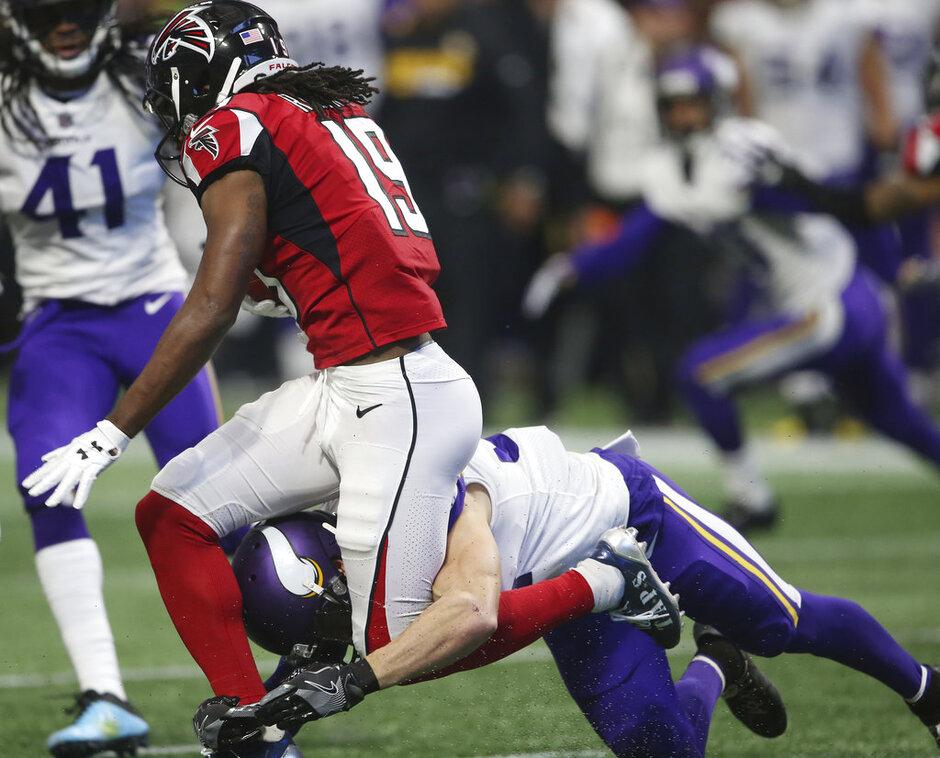 Vikings Falcons Football