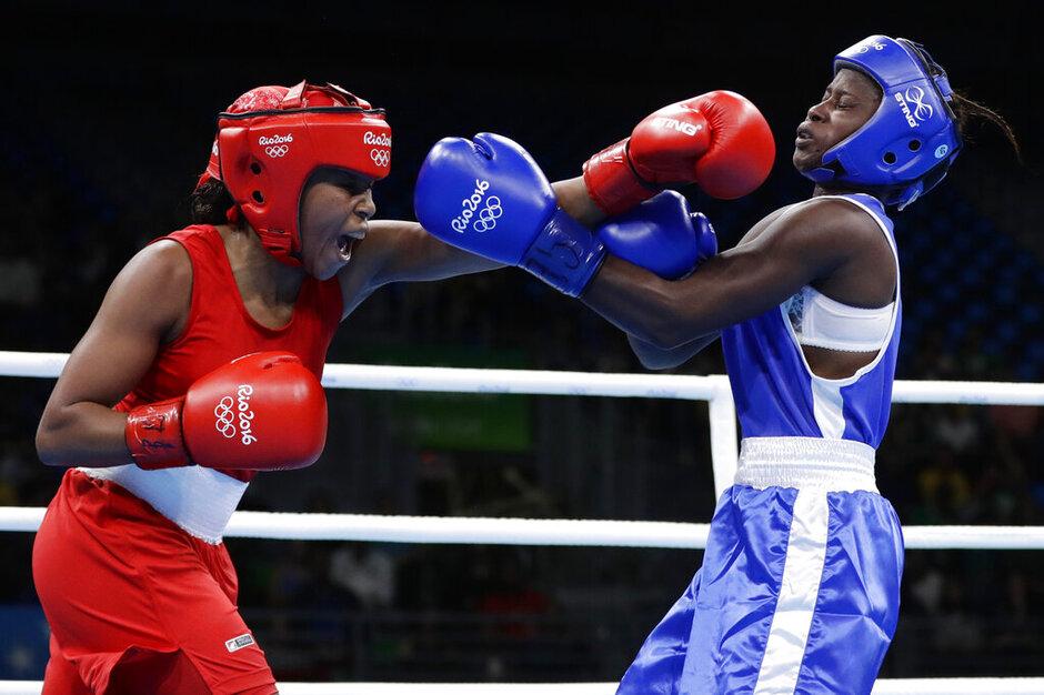 Judith Mbougnade, Ingrit Lorena Valencia Victoria