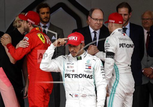 APTOPIX Monaco F1 GP Auto Racing