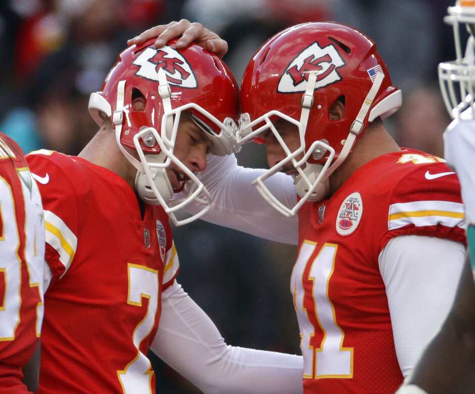Harrison Butker, Alex Smith
