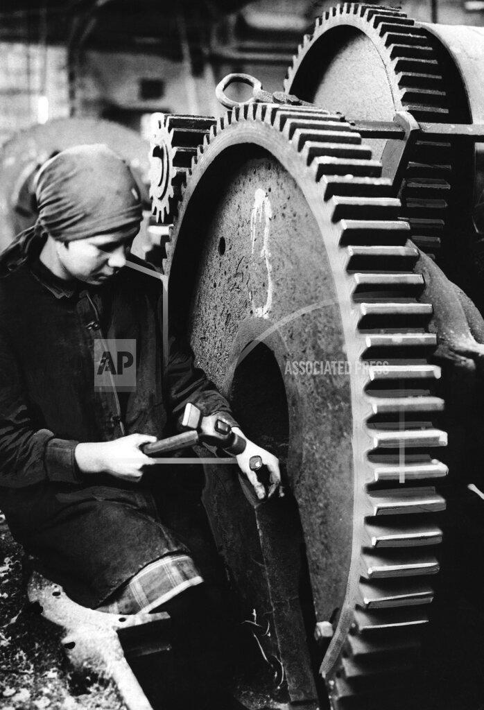 Watchf Associated Press International News   Russian Federation APHS142293 Young Leningrad Woman