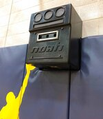 In a photo from February 2019, the Noah Basketball system, shown in Ann Arbor, Mich., can measure both the arc and accuracy of a player's shots--an attempt to blend old-fashioned repetition with analytics and technology as players strive to improve their shooting. As the nation's top teams compete in the NCAA Tournament, games will be won and lost from the 3-point line and the foul line. (AP Photo/Noah Trister)