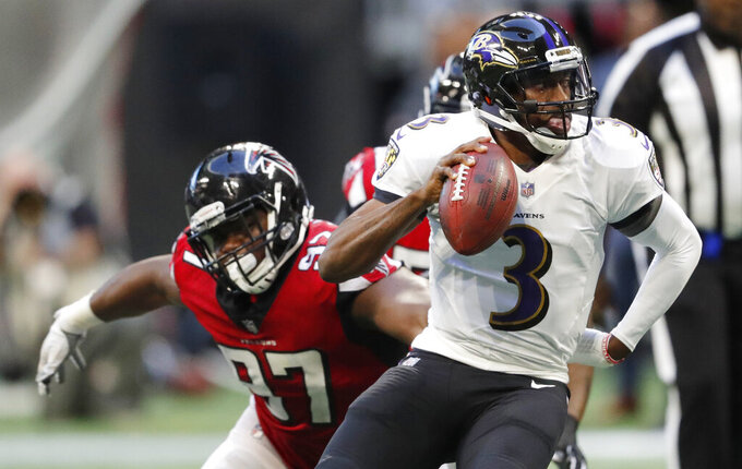Falcons place franchise tag on Jarrett, still want new deal