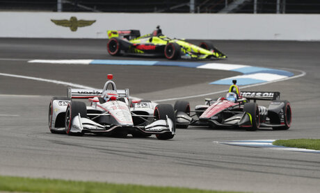 Will Power, Robert Wickens, Sebastian Bourdais