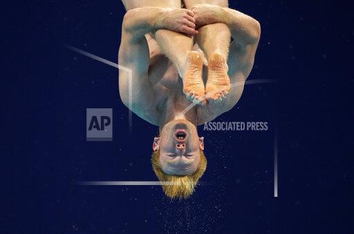 APTOPIX Tokyo Olympics Diving
