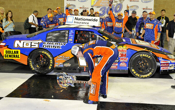 AUTO RACING: NASCAR visits Music City; IndyCar in Wisconsin
