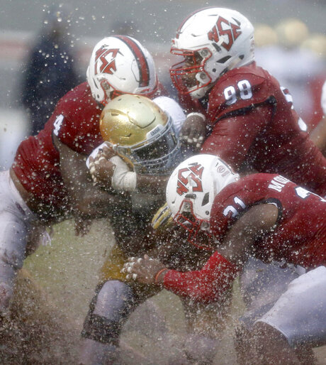 APTOPIX Notre Dame NC State Football
