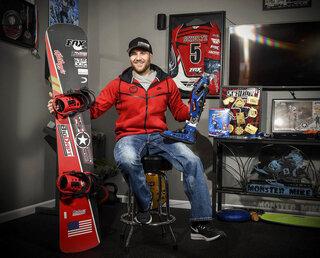 Paralympics Schultz Snowboarding