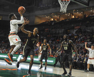 Wake Forest Miami Basketball