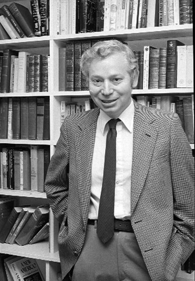 FILE - In this Oct. 15, 1979, file photo, professor Steven Weinberg, of Cambridge, Mass., poses for a picture. Weinberg, the 1979 winner of the Nobel prize in physics with two other scientists for their work unlocking mysteries of tiny particles, has died at 88. Spokesperson Christine Sinatra at the University of Texas at Austin says Weinberg died Friday, July 23, 2021, at a hospital in Austin. (AP Photo/File)