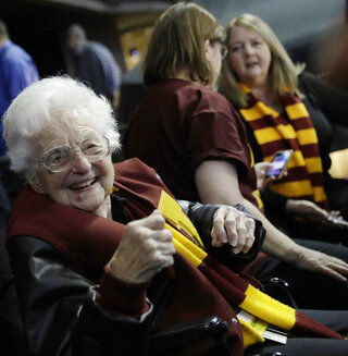 NCAA-Loyola-Chicago-Sister Jean Basketball