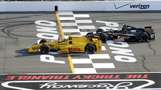Ryan Hunter-Reay, Josef Newgarden