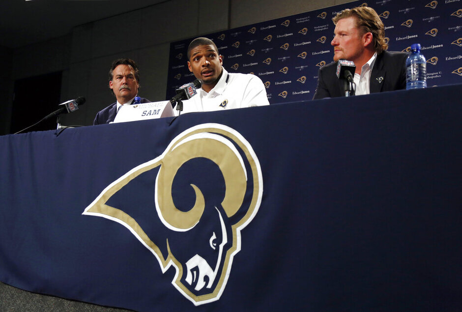 Michael Sam, Jeff Fisher, Les Snead