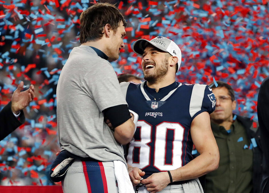 Tom Brady, Danny Amendola