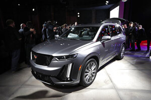 Ford And Cadillac Suvs Toyota Sports Car Star At Auto Show