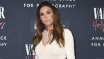 """FILE - Caitlyn Jenner arrives at the Annenberg Space for Photography's Vanity Fair: Hollywood Calling Exhibit Opening on Feb. 4, 2020, in Los Angeles. Jenner's reflections toward winning an Olympic gold medal, the famous """"Malice at the Palace"""" brawl and boxer Christy Martin's fight for her life outside the ring are some of the most pivotal sports moments highlighted in a new Netflix docuseries airing next month. The streaming service giant announced Tuesday, July 20, 2021, that the series """"UNTOLD"""" will premiere Aug. 10. (Photo by Jordan Strauss/Invision/AP, File)"""