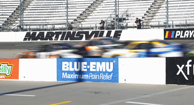 Burton wins 2nd straight to disrupt Xfinity Series playoffs