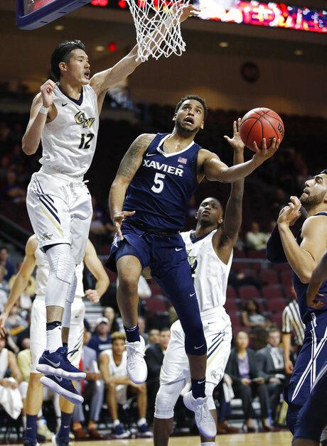 Xavier George Washington Basketball