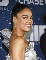 Actress Tessa Thompson attends the world premiere of